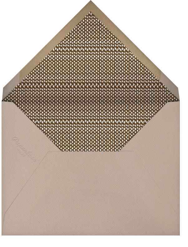 Photo Spread - Santa Fe - Paperless Post - First communion - envelope back