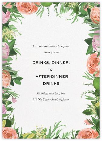 Gramercy Garden - Paperless Post - Spring Party Invitations