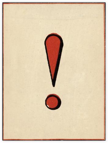 Red Letter - ! - John Derian - John Derian stationery