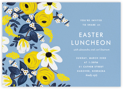 Marigold Melange - Rifle Paper Co. - Easter invitations