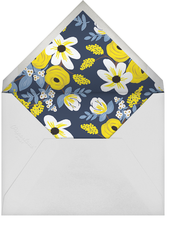 Marigold Melange - Rifle Paper Co. - Easter - envelope back