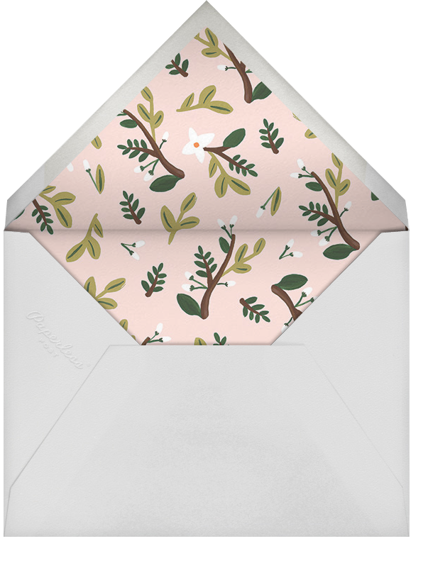 Floral Glade - Rifle Paper Co. - Baby shower - envelope back