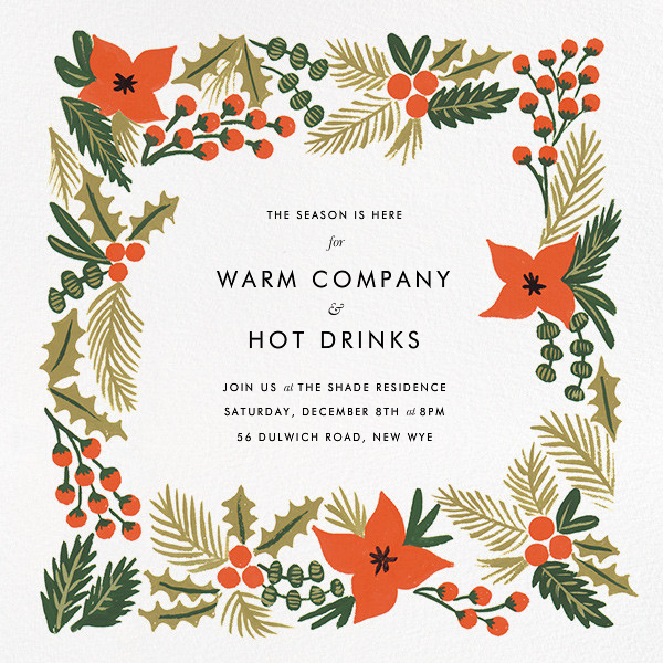 Holiday Potpourri (Square) - Rifle Paper Co. - Company holiday party