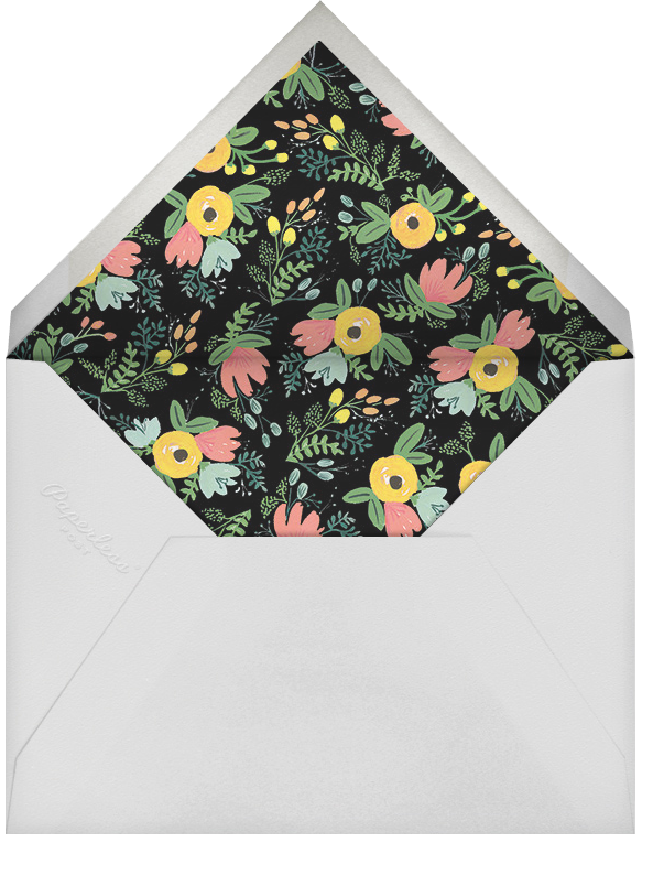 Monogrammed Welcome - Yellow - Rifle Paper Co. - General entertaining - envelope back