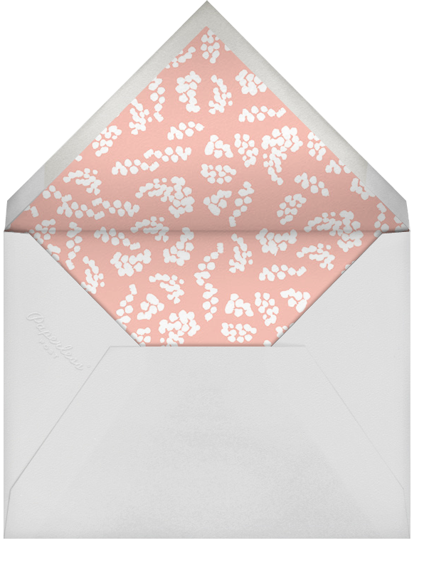 Pinks and Blues - Rifle Paper Co. - Bridal shower - envelope back