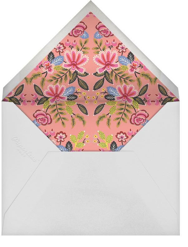 Folk Embroidery (Banner) - Rifle Paper Co. - General entertaining - envelope back