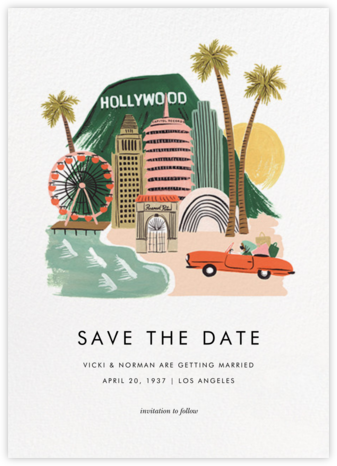Destination: LA - Rifle Paper Co. - Rifle Paper Co. Wedding