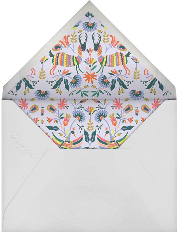 Otomi Wildlife (Horizontal) - Rifle Paper Co. - Adult birthday - envelope back