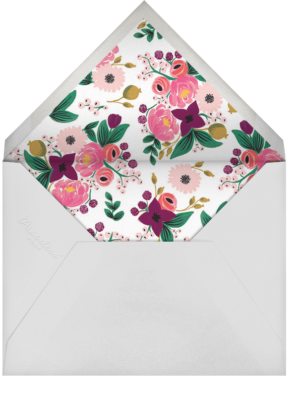 Vintage Blossom - Rifle Paper Co. - Bridal shower - envelope back