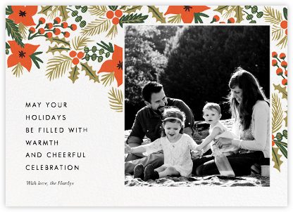 Holiday Potpourri (Inset) - Rifle Paper Co. - Holiday photo cards