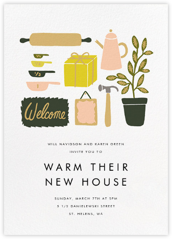 Home Goods - Rifle Paper Co. - Housewarming party invitations