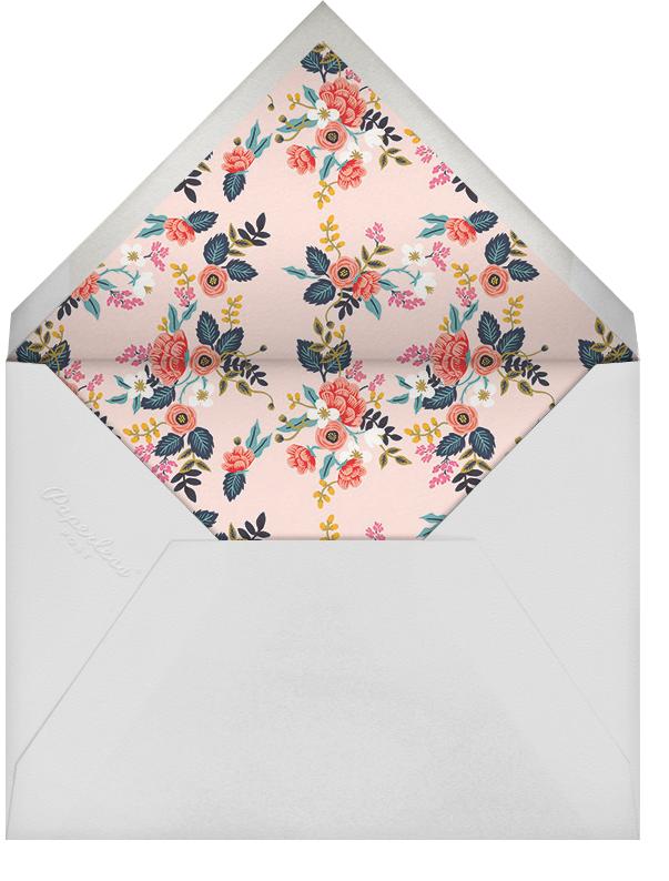 Birch Monarch (Frame) - Black  - Rifle Paper Co. - Bridal shower - envelope back
