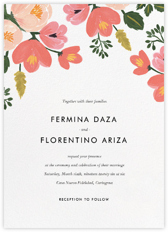 Pastel Petals (Invitation) - Rifle Paper Co. - Wedding invitations