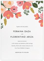 Pastel Petals (Invitation)