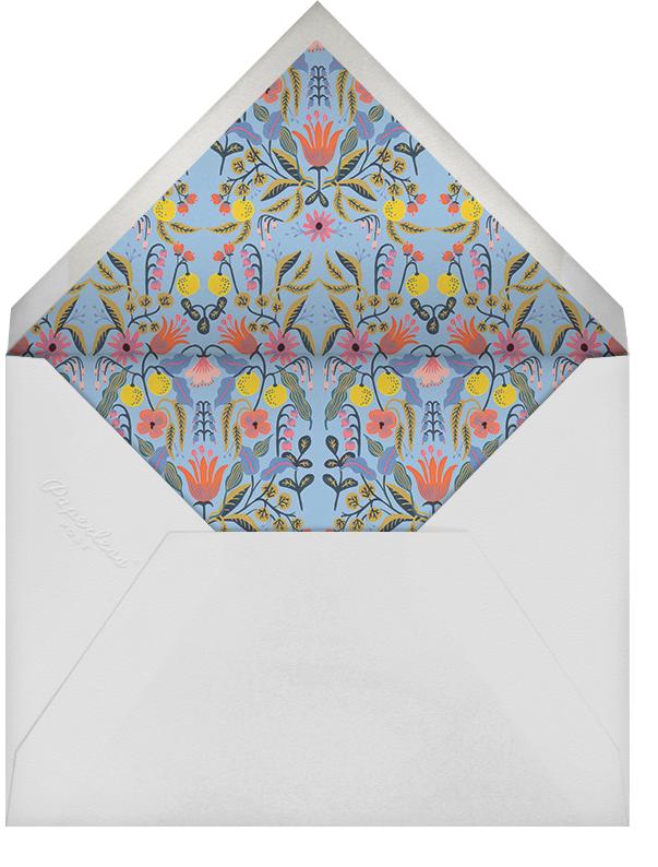 Petal Pastiche - Rifle Paper Co. - Bridal shower - envelope back