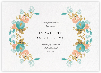 Classic Garland - Rifle Paper Co. - Bridal shower invitations