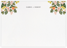 Citrus Orchard Suite (Stationery) - White