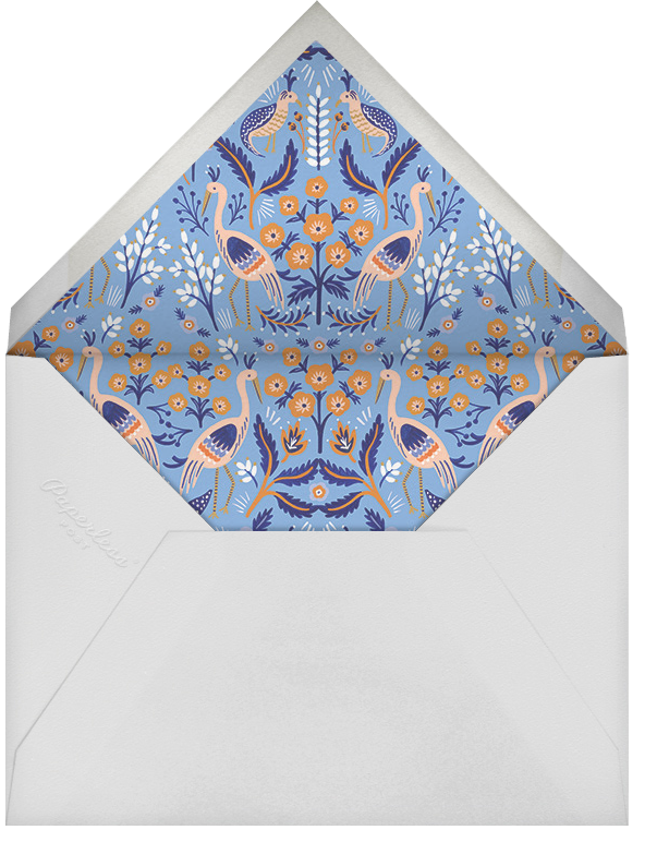 Heron Heralds (Stationery) - Rifle Paper Co. - Personalized stationery - envelope back