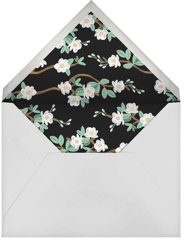 Tea Tree (Invitation) - Peach - Rifle Paper Co. - All - envelope back