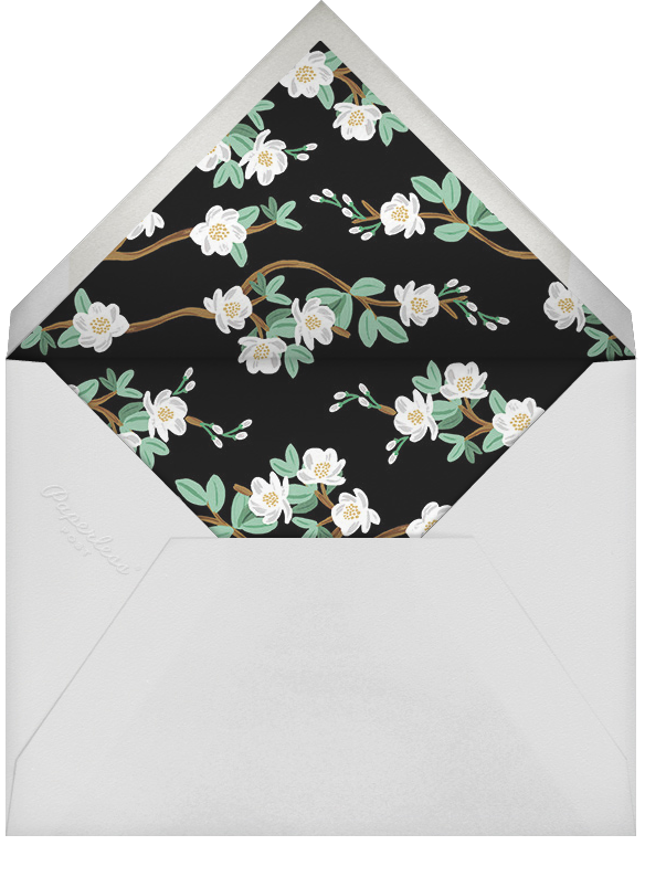 Tea Tree (Save the Date) - Mint - Rifle Paper Co. - Save the date - envelope back