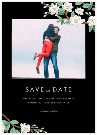Tea Tree (Photo Save the Date) - Rifle Paper Co. - Rifle Paper Co. Wedding