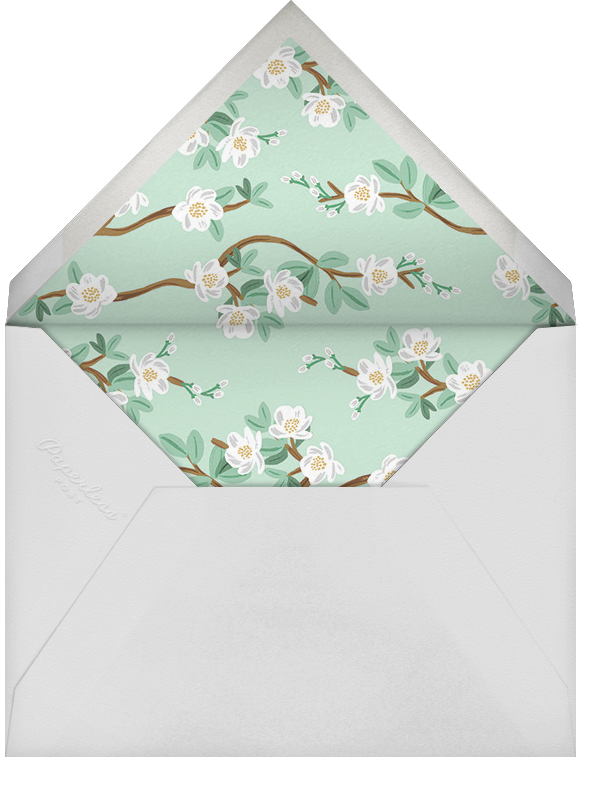 Tea Tree (Photo Save the Date) - Rifle Paper Co. - Save the date - envelope back