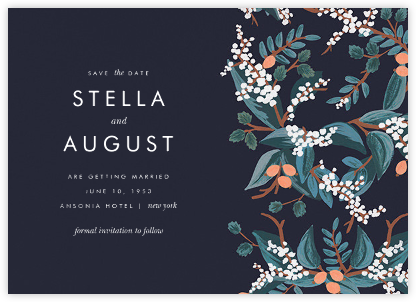 Mandarin Grove (Save the Date)  - Rifle Paper Co. - Save the date cards and templates