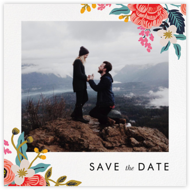 Birch Monarch Suite (Photo Save the Date) - Rifle Paper Co. - Photo save the dates