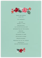 Kona Floral (Program) - Celadon