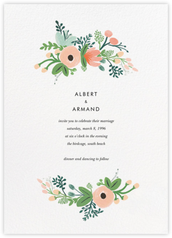 Wrapped in Wildflowers Suite (Invitation) - Rifle Paper Co. - Online Wedding Invitations
