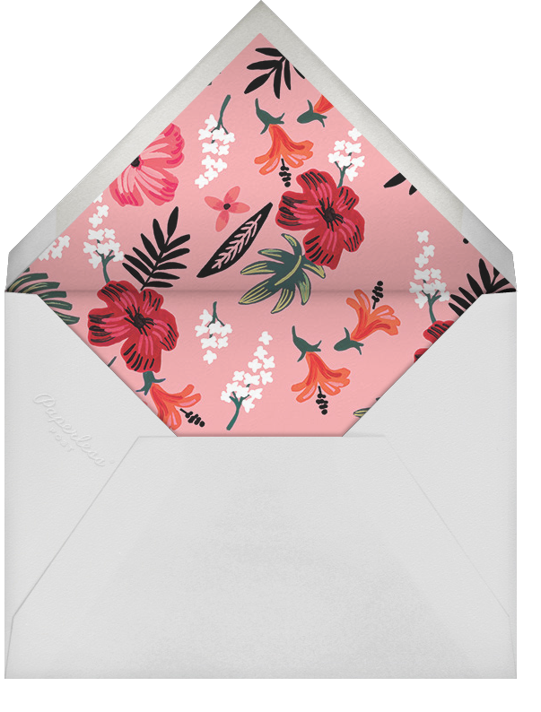 Kona Floral (Stationery) - Rifle Paper Co. - Personalized stationery - envelope back