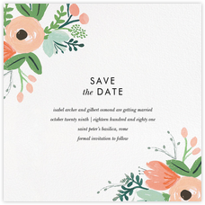 Wrapped in Wildflowers Suite (Save the Date)
