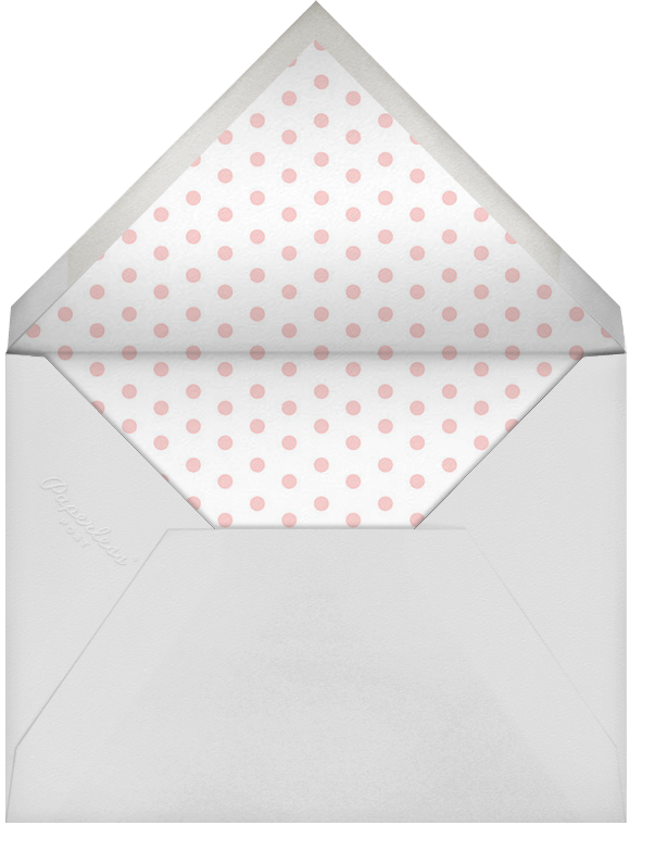 Double Trouble - Pink - Paperless Post - Baby shower - envelope back