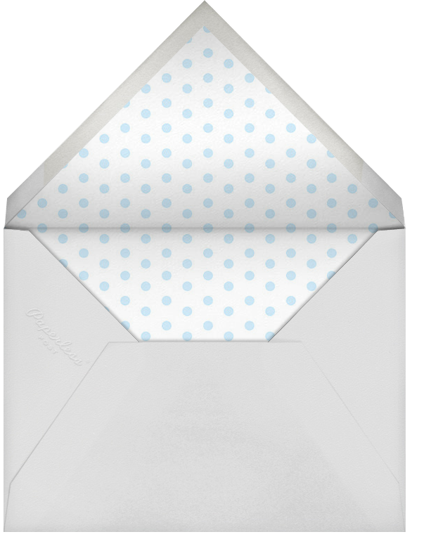 Double Trouble - Blue - Paperless Post - Baby shower - envelope back