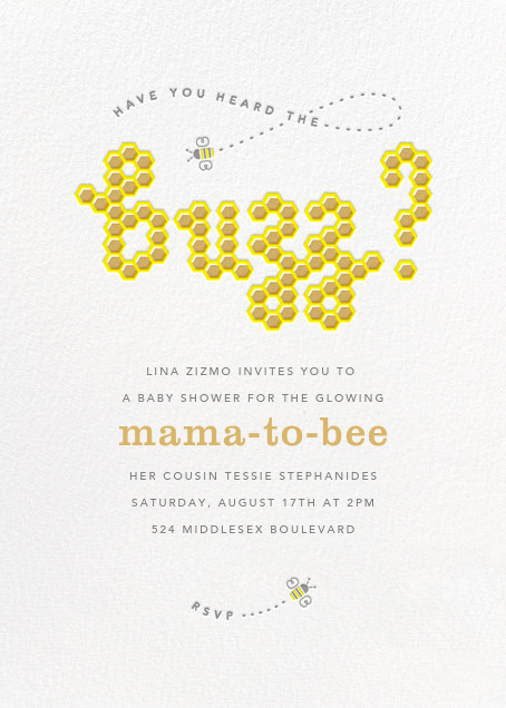 What's the Buzz - Paperless Post -