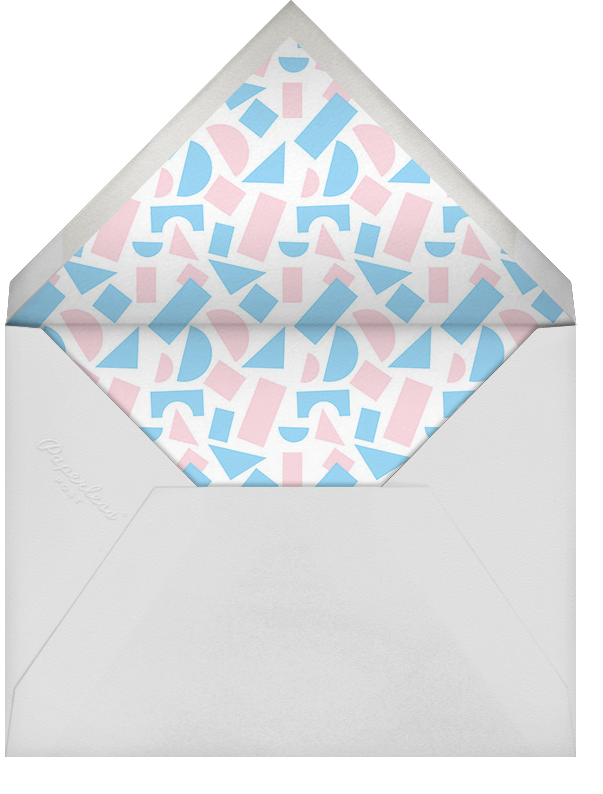 New Kid on the Block - Paperless Post - Baby shower - envelope back