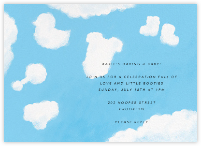 Baby Daydreams - Paperless Post - Celebration invitations