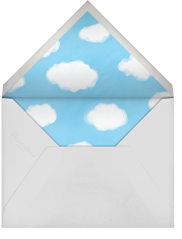 Baby Daydreams - Paperless Post - Baby shower - envelope back