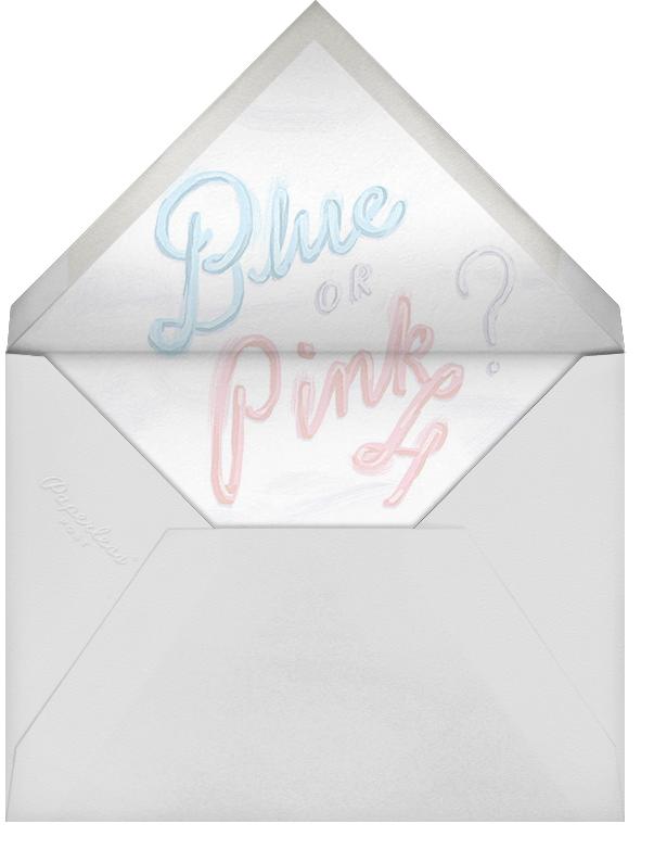 Baby Cake - Paperless Post - Baby shower - envelope back
