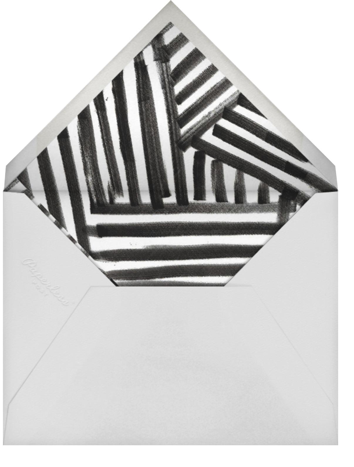 Sonnet - Rose/Gold - Kelly Wearstler - Bridal shower - envelope back