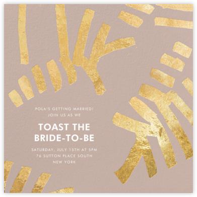 Sonnet - Rose/Gold - Kelly Wearstler - Bridal shower invitations