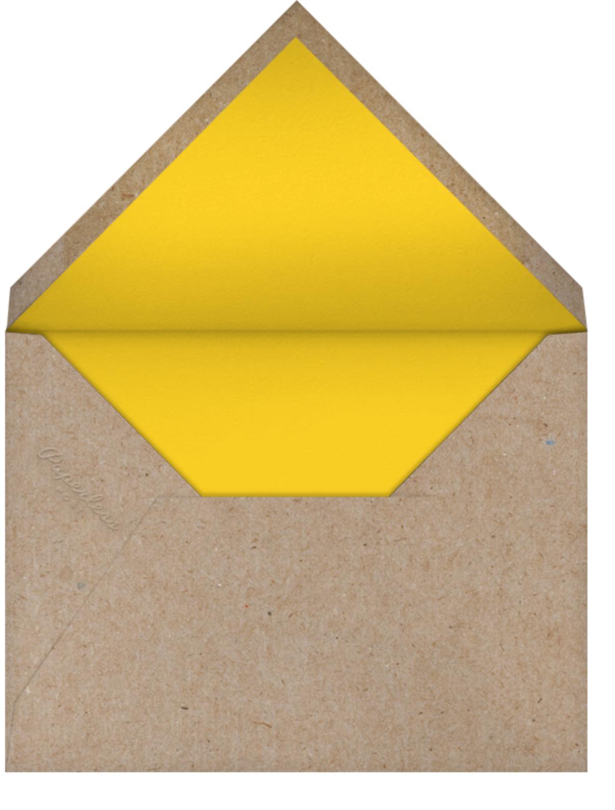 Winking Owl - Pink - Petit Collage - Birth - envelope back