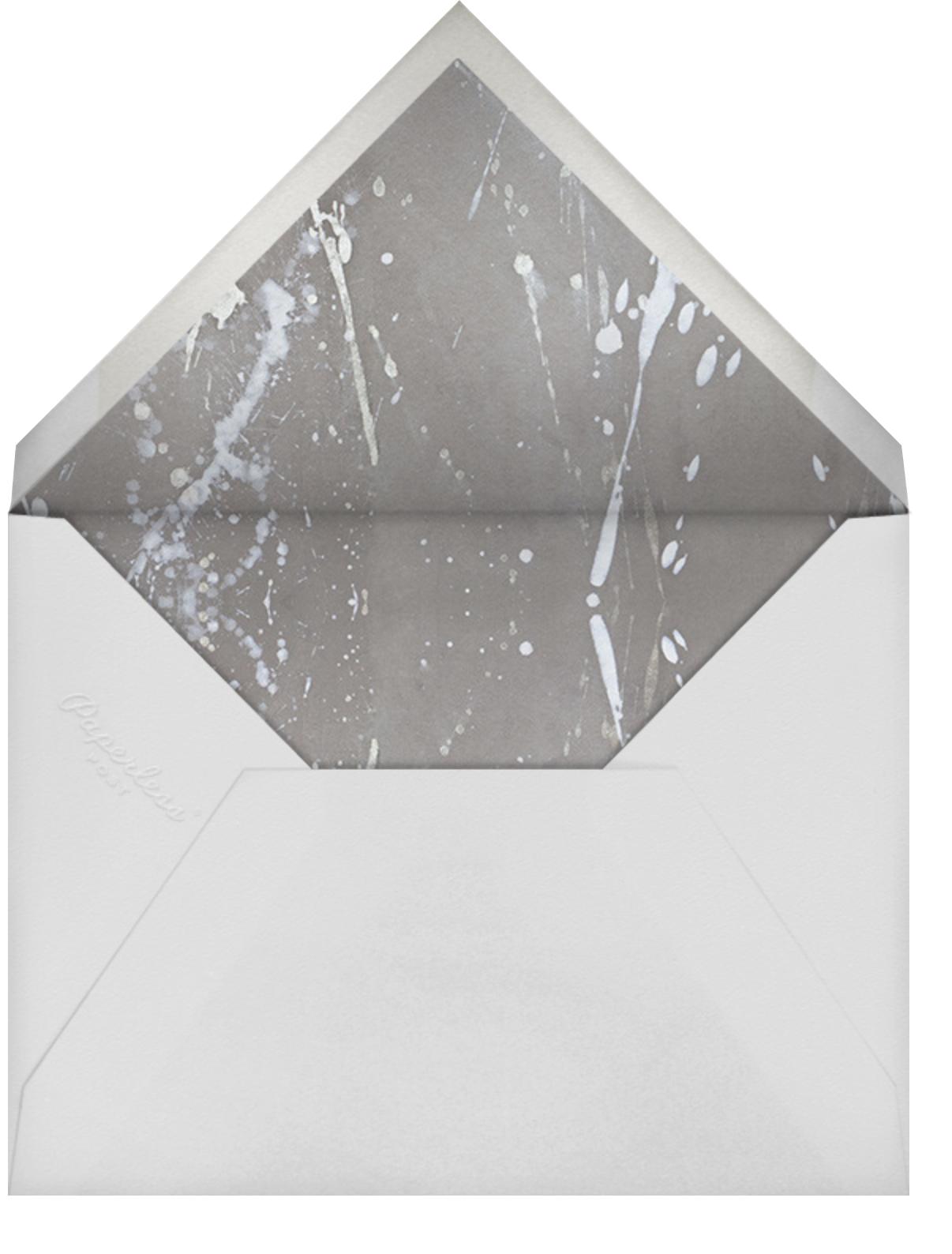 Graffito - Coral - Kelly Wearstler - Adult birthday - envelope back