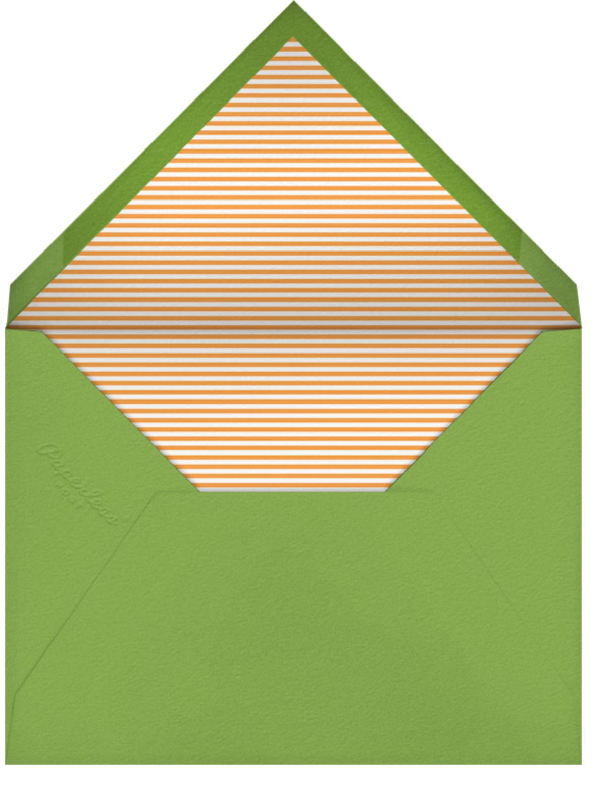 Drum Roll, Please - Petit Collage - Birth - envelope back