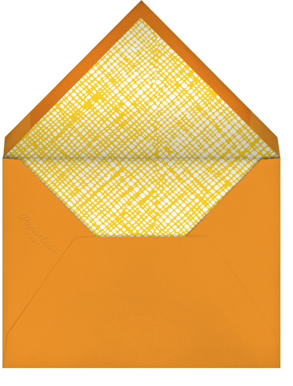 You Are My Sunshine - Petit Collage - Baby boy announcements - envelope back