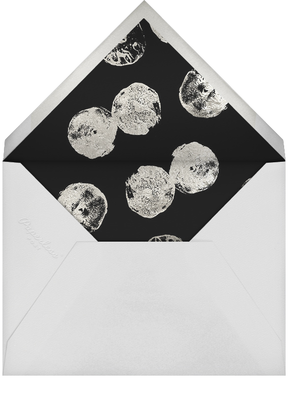 Framework - Black/Silver - Kelly Wearstler - Cocktail party - envelope back