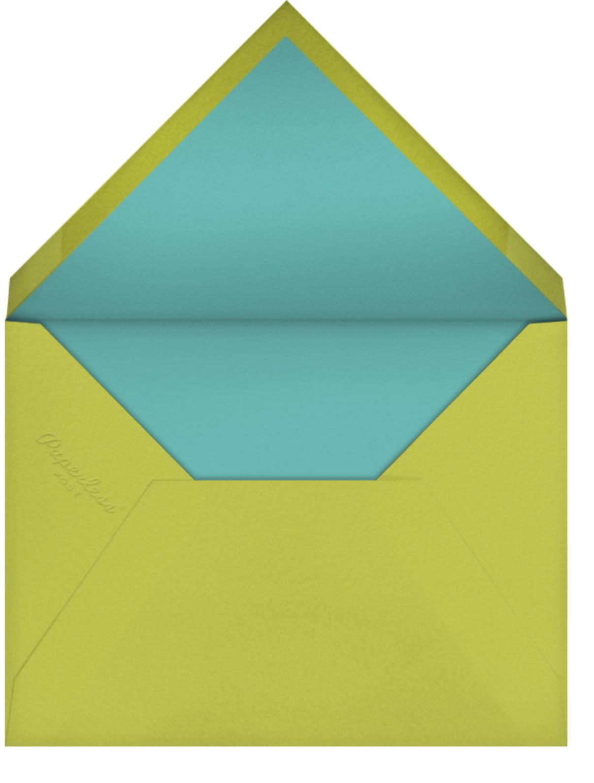 Acorn Supper - Petit Collage - Birth - envelope back