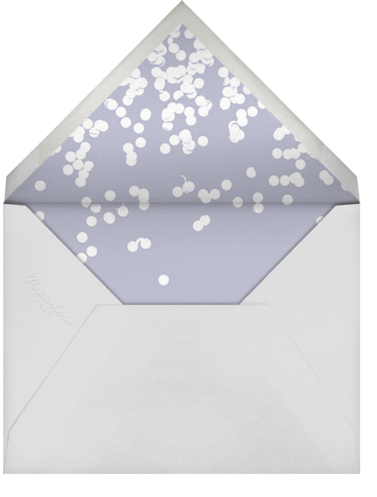Exuberant - Gold - Kelly Wearstler - Adult birthday - envelope back