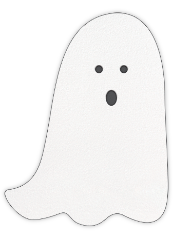 Ghost with the Most - Sugar Paper -