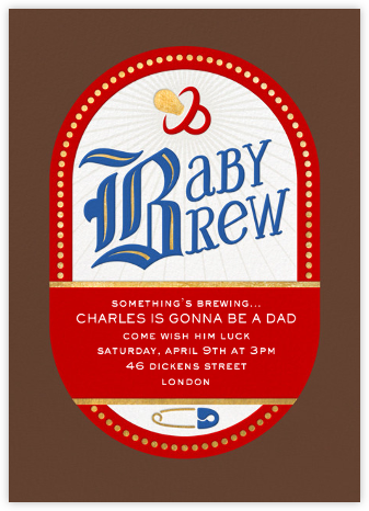 Brew Addition - Paperless Post - Baby Shower Invitations